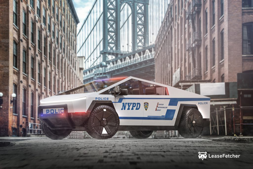 NYPD Cybertruck - LeaseFetcher