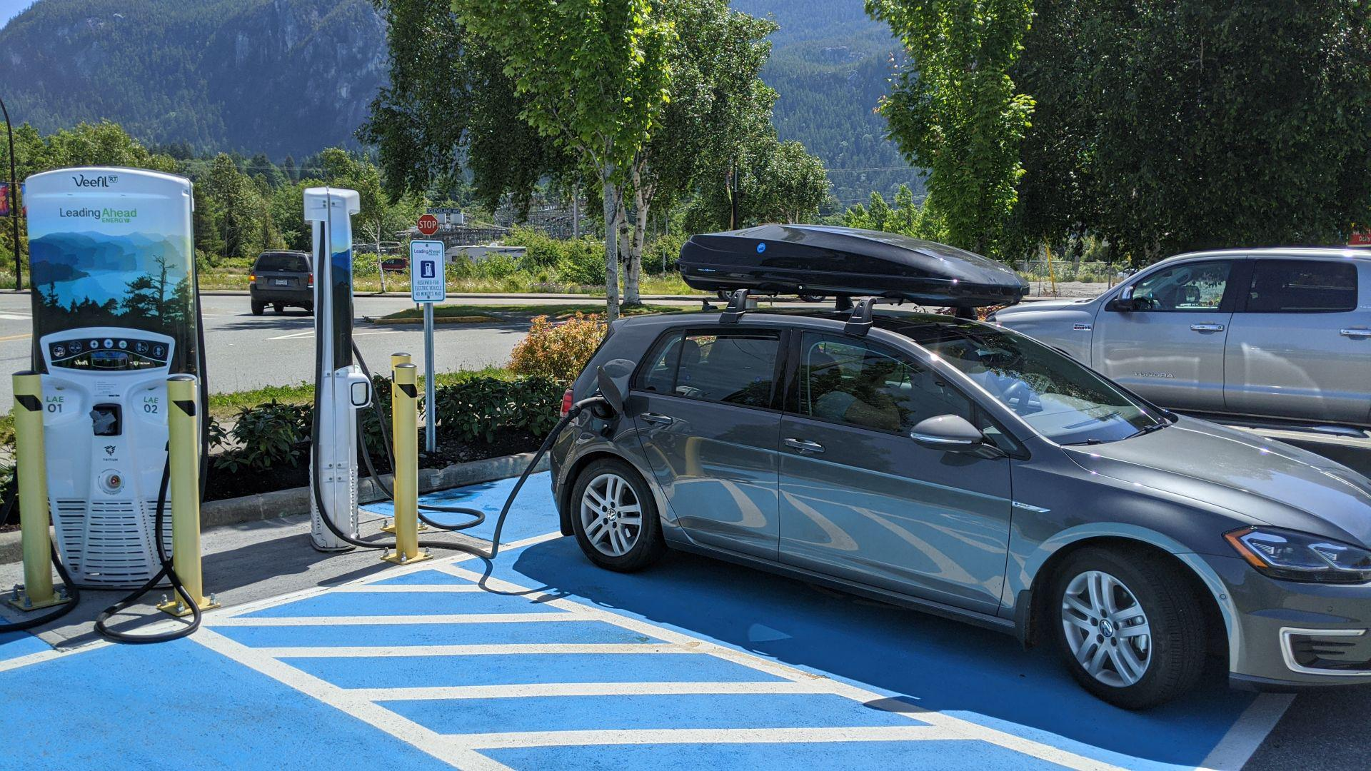 Squamish EV charger