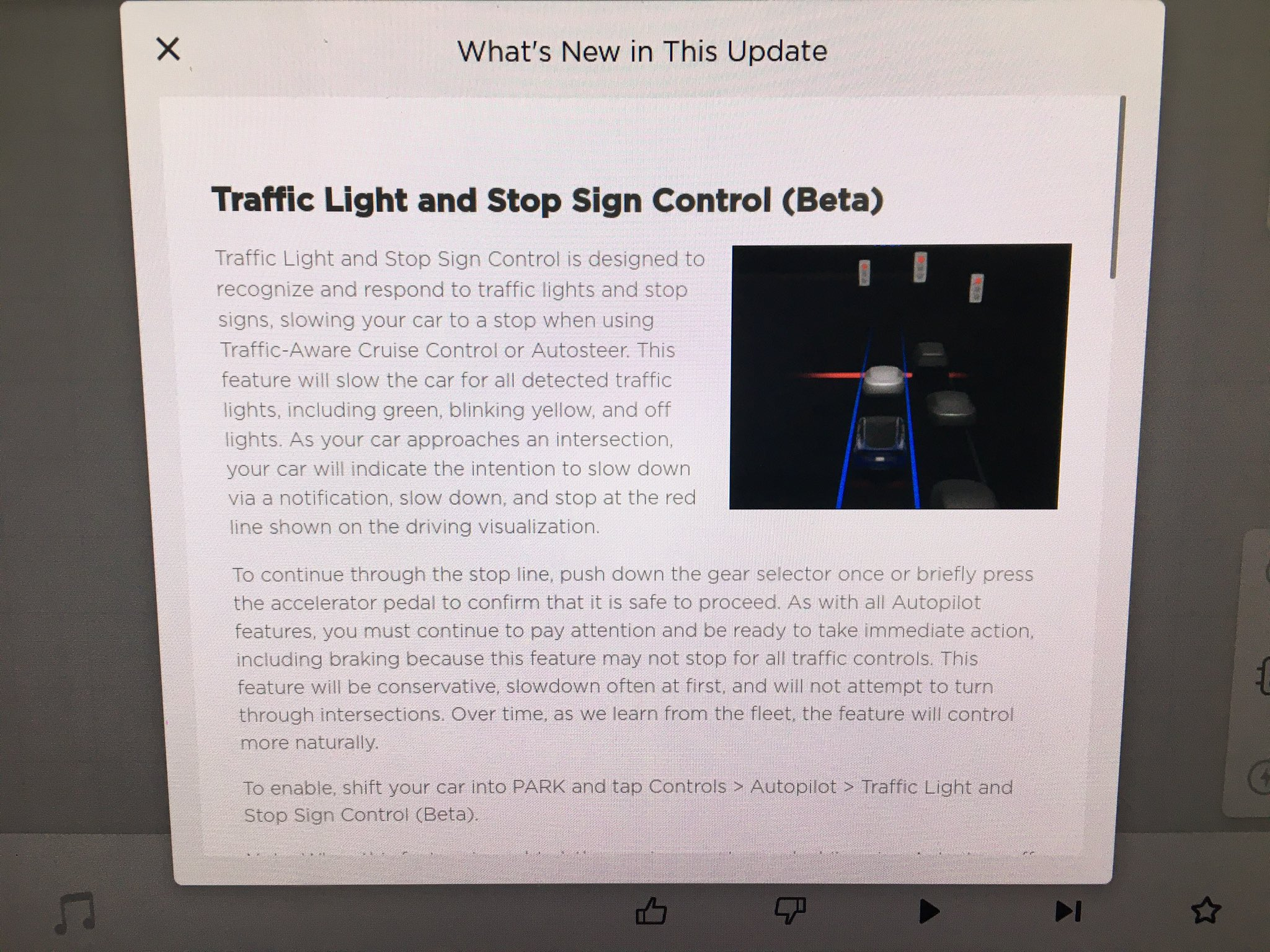 Tesla 2020.20.13 software update