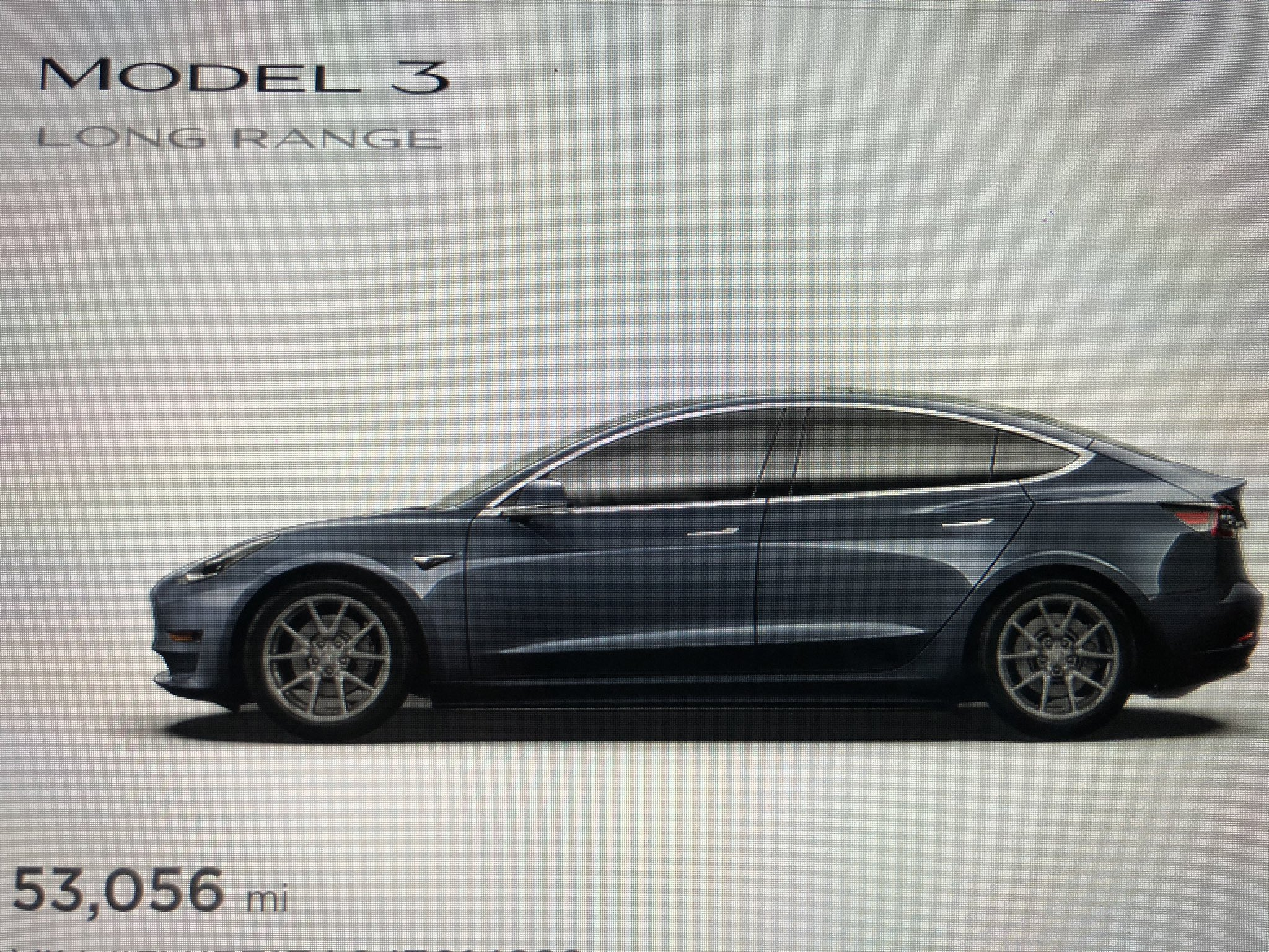 Tesla Model 3 avatar without aero covers
