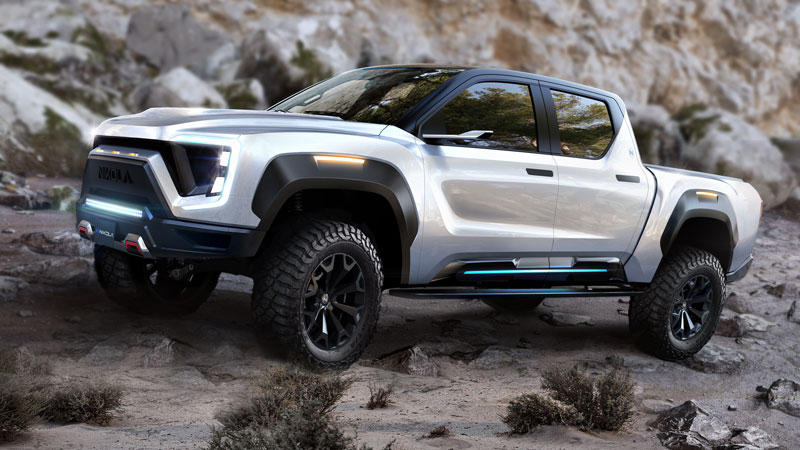 Nikola Badger pickup truck
