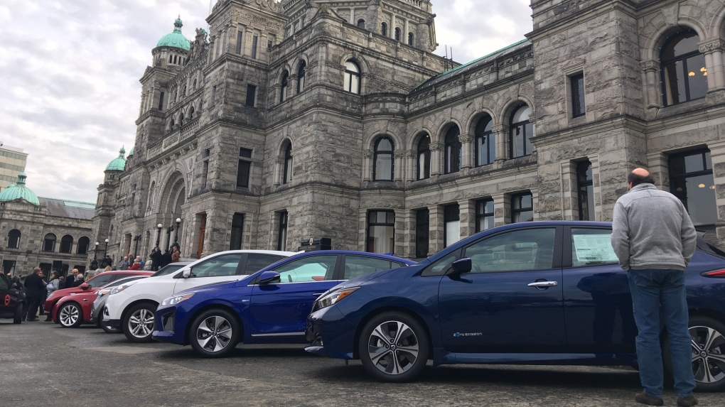 BC Government electric vehicles