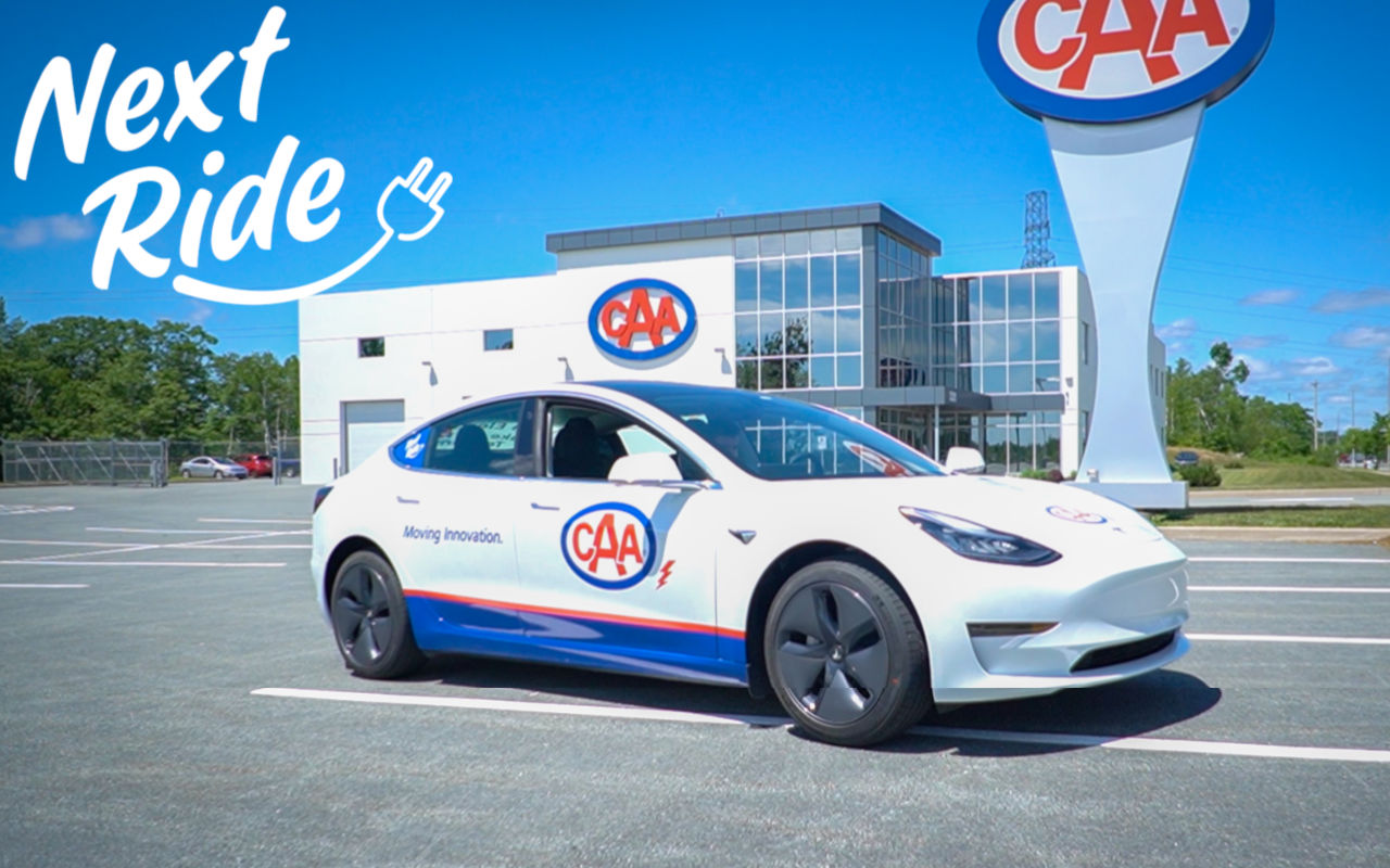 CAA Atlantic Next Ride Tesla