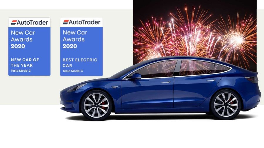 Tesla Model 3 New Car of the Year Autotrader