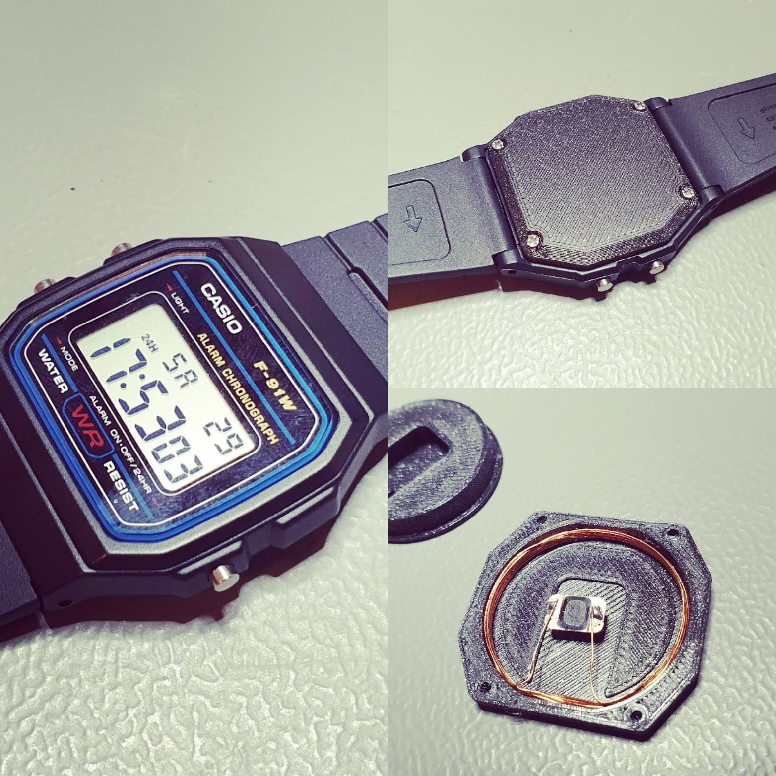 Casio Watch Tesla key