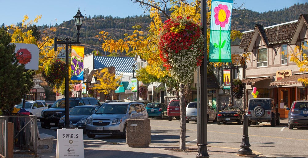 Downtown Summerland BC
