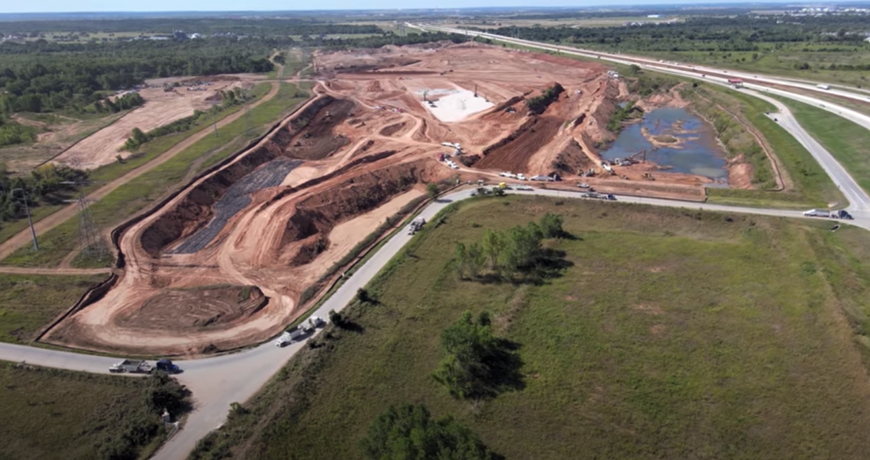 Giga Texas site overview