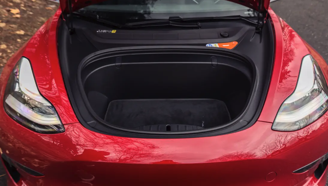 Tesla redesigns the Model 3 frunk, but why? [Update ...