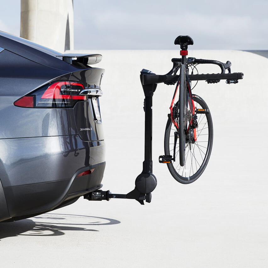 Tesla Model Y hitch rack