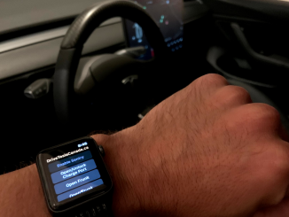 Tesla Stats App Apple Watch