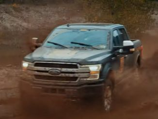 Ford electric vehicle F150