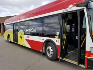 TTC electric bus