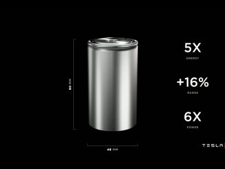 Tesla 4680 battery cell