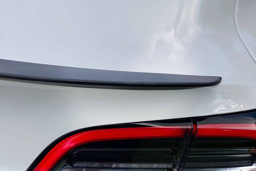Tesloid Model 3 Performance Spoiler
