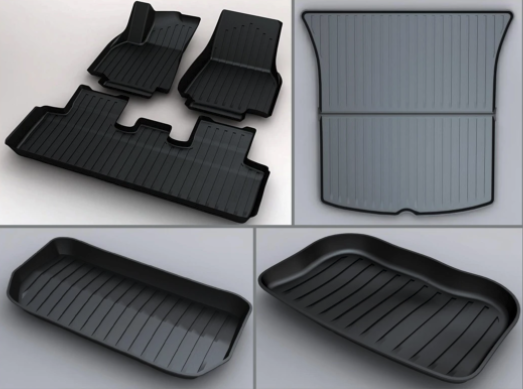 Tesmanian discount code Model Y all weather floor mats