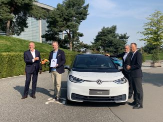 VW ID3 first delivery