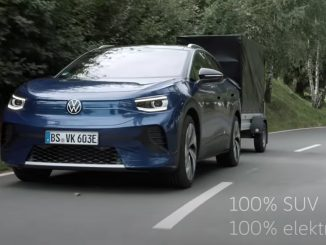 VW ID4 towing video