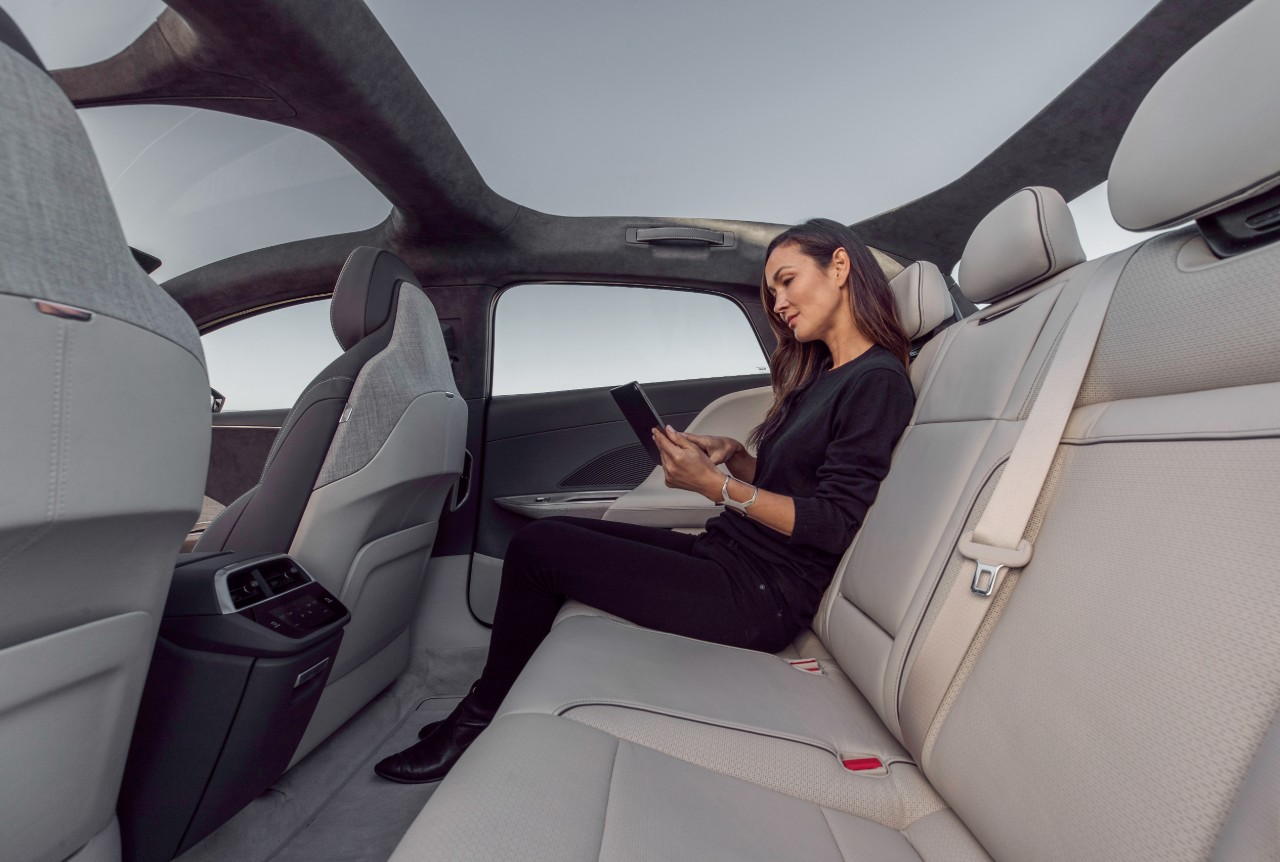 Lucid Air bench seat
