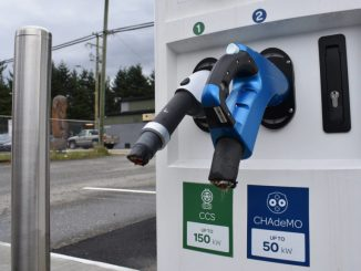 Electrify Canada Hope BC vandalized