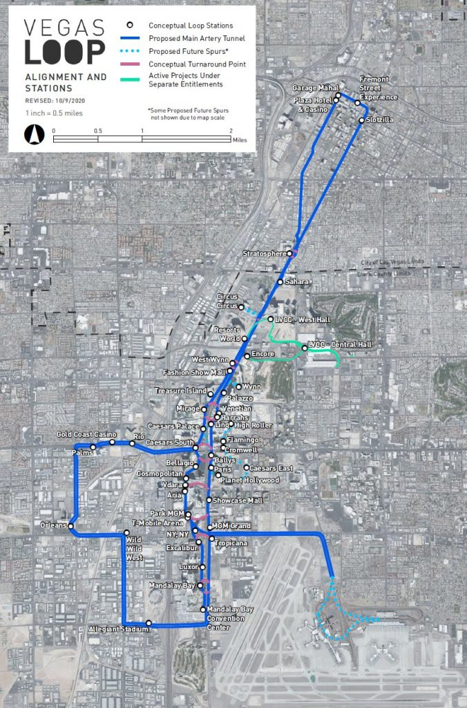 Las Vegas Loop expansion map