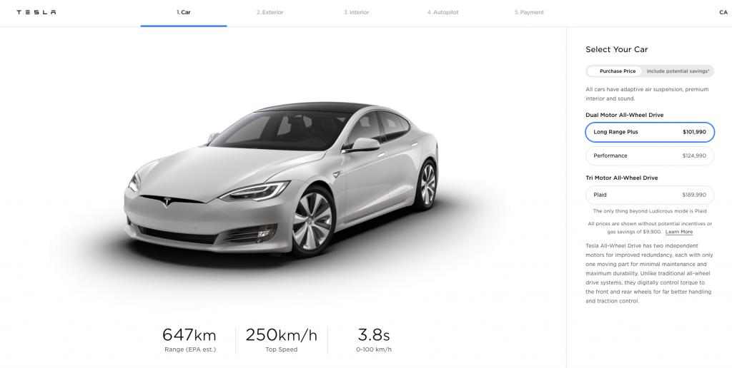 Model S new CAD