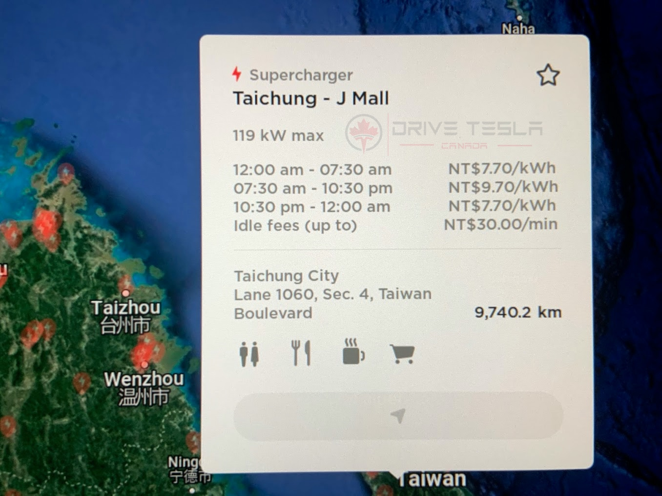 New Taiwan fees Supercharger