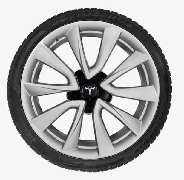 Old Tesla Model 3 Sport wheel
