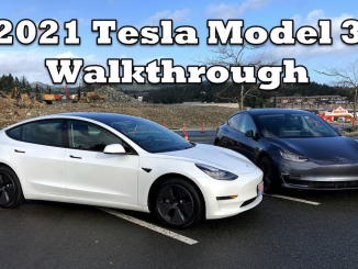 2021 Tesla Model 3 walkthrough