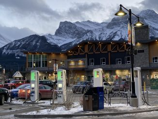 Electrify Canada station Canmore