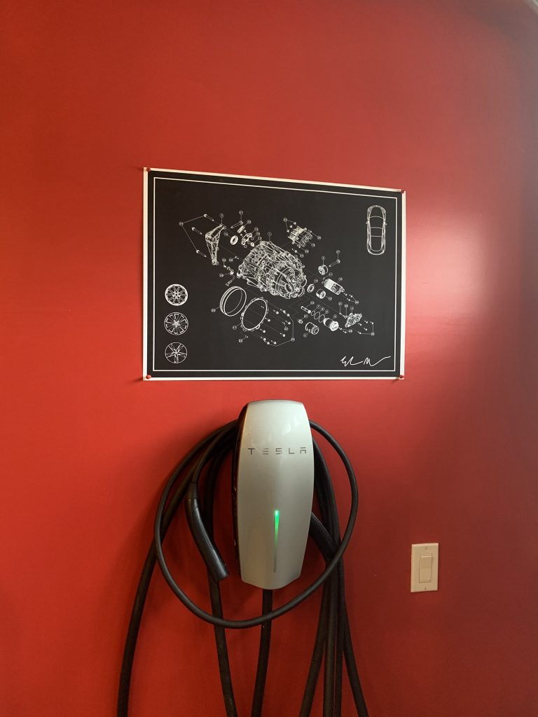 Model 3 print charger