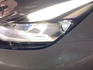 New Model 3 headlight