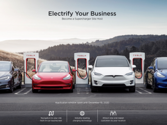 Tesla Supercharger application