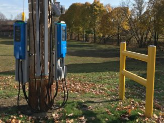 Toronto on street EV chargers