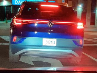 VW ID4 spotted Toronto