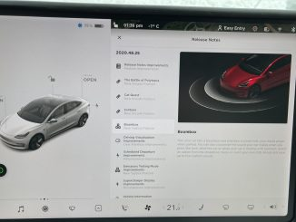 Tesla holiday update release notes