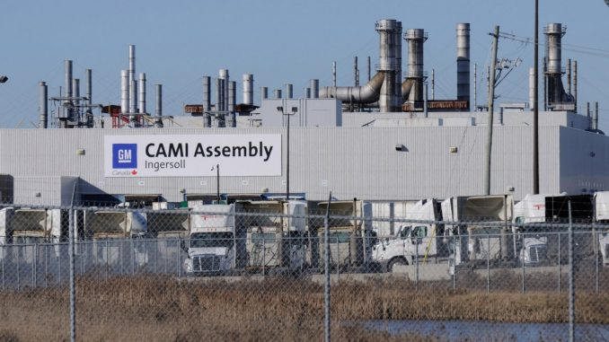 CAMI Assembly Plant Ingersoll Ontario