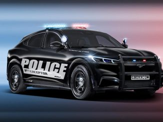 Ford Mach-E police car