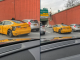 NYC Yellow Tesla taxi accident