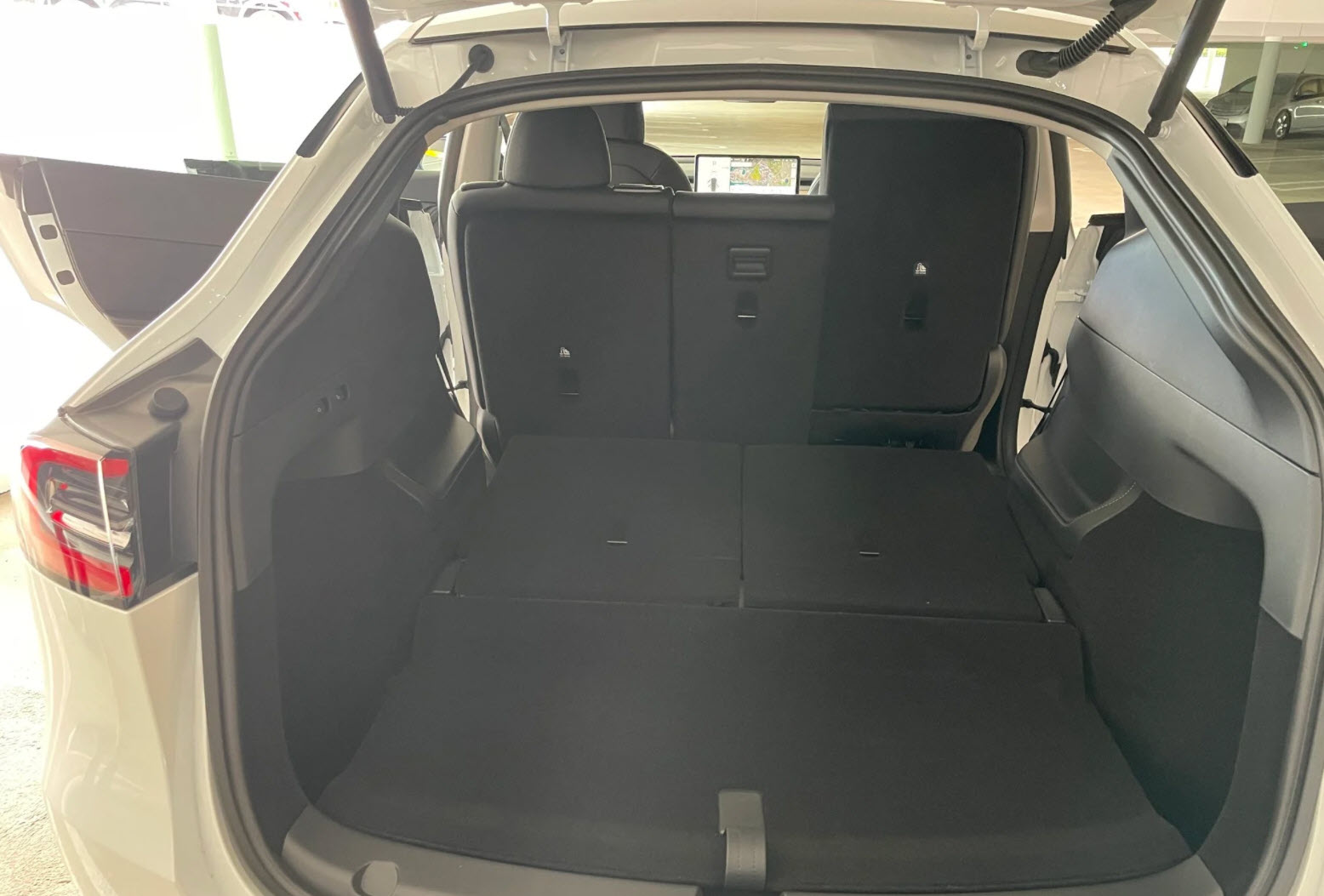 Tesla Model Y third row 3