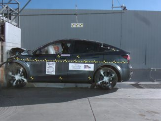 NHTSA Tesla Model Y crash test