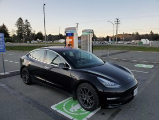 ChargePoint Nanaimo Airport south chargers Tesla