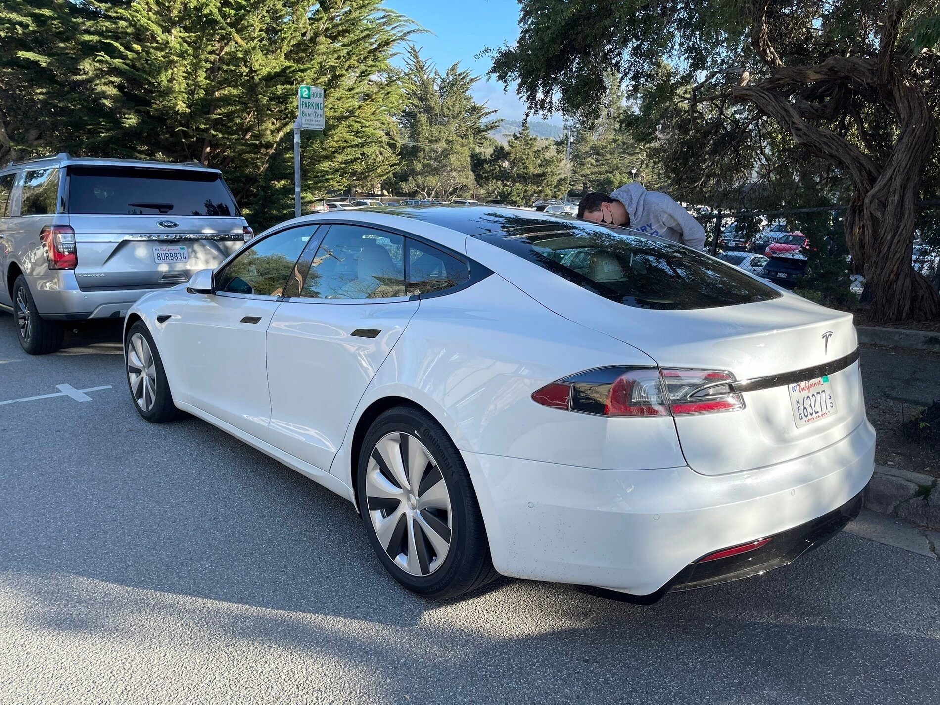 Model S refresh rear