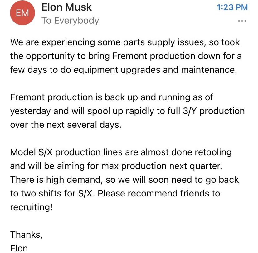 Musk email