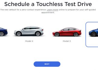 Tesla Touchless Test Drive