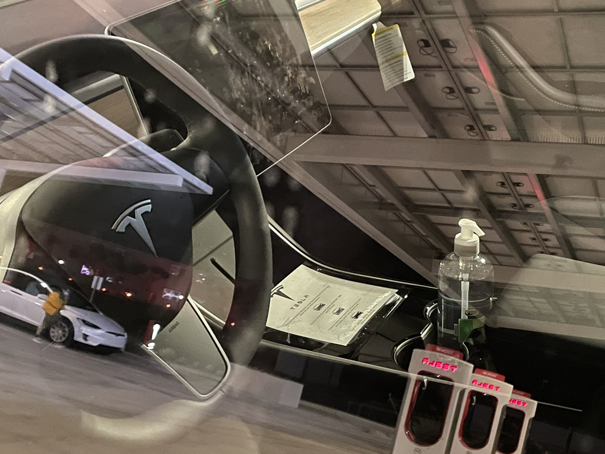 Tesla touchless test drives