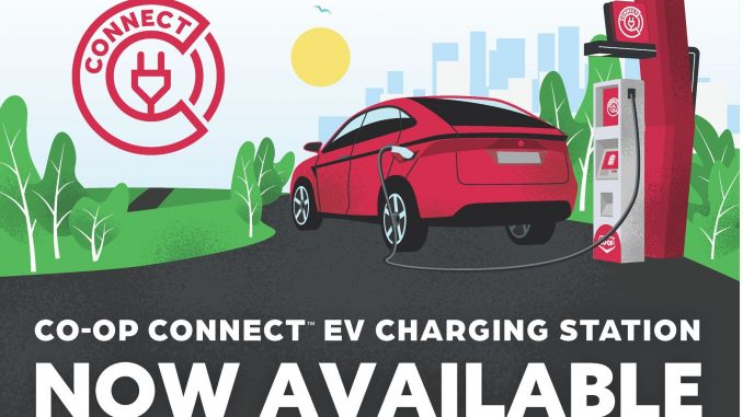 Co-Op Connect EV chargers