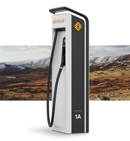 Rivian DC fast charger