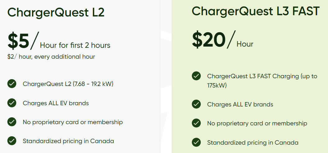 Chargerquest pricing