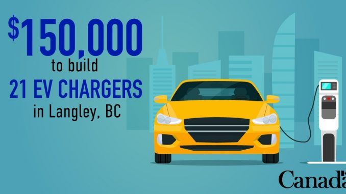 EV chargers Langley