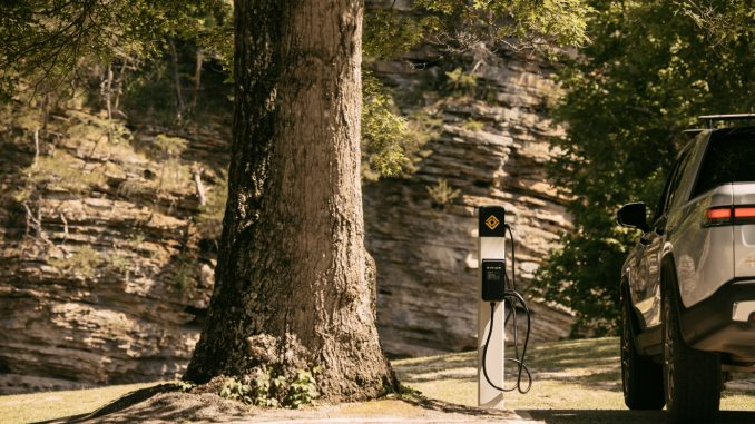 Rivian charger